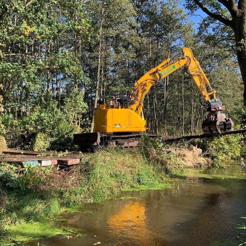 Rooiwerkzaamheden kettingdijk Weert – Bocholt