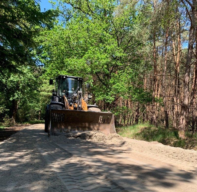 Zandpaden herstellen Natuurmonumenten